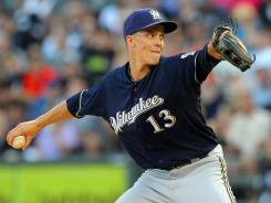 The Brewers might be ready to deal ace Zack Greinke, pitching Friday vs. the White Sox, who can be a free agent after this season.