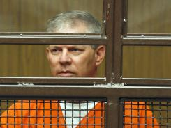 Lenny Dykstra appeared in a courtroom in San Fernando, Calif. in March 5 for his bankruptcy fraud case.