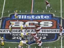 A selection committee, not computers or polls, will choose the teams who play in the BCS title game starting with the 2014 season.
