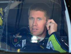 Carl Edwards would not be in the Chase for the Sprint Cup playoff if the cutoff was made before Saturday's Quaker State 400.