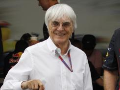 Bernie Ecclestone's idea has no official backing from the city of London.