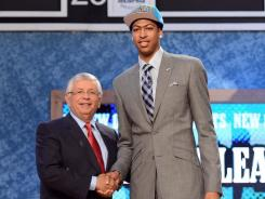 Anthony Davis is just the fifth player to be drafted No. 1 overall after winning an NCAA national title.