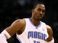 Dwight Howard's future with the Magic looms over Thursday's NBA draft.