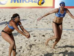 Misty May-Treanor, left, and Kerri Walsh, won gold medals at Athens in 2004 and Beijing in 2008. The London Olympics will be their last together.