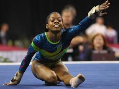 Gabrielle Douglas competes in the U.S. Olympic trials this weekend.