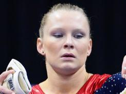 Bridget Sloan, a member of the U.S. Olympic gymnastics team in 2008, will not be going to the 2012 London Games because of an injury.