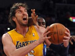 The Minnesota Timberwolves are hoping to get Pau Gasol from the Los Angeles Lakers. The bait they're dangling is Derrick Williams, their first-round pick in last year's draft.