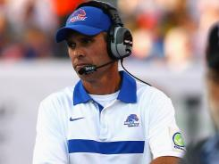 Boise State coach Chris Petersen hopes the NCAA will reduce penalties imposed on the school's football program.