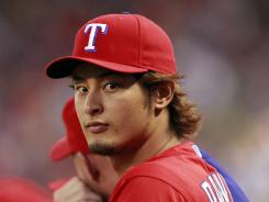 Yu Darvish is 3-0 in his past three starts.