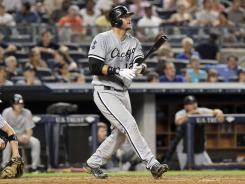 A.J. Pierzynski has 14 home runs this season. His career-high is 18.