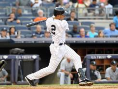 Derek Jeter is hitting .303 with seven home runs and 25 RBI this season.