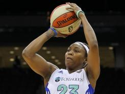 New York Liberty guard Cappie Pondexter scored 20 points and had a season high seven rebounds, to go along with her four assists.