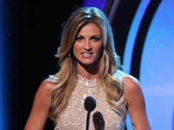 Erin Andrews spent eight years at ESPN before departing for Fox.