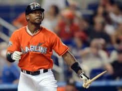 Marlins third baseman Hanley Ramirez hit his first home run in his last 90 at-bats Sunday during Miami's 5-2 win against the Phillies.