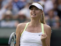Maria Sharapova of Russia will face Sabine Lisicki of Germany on Monday in the Round of 16.