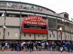 Wrigley Field, which opened in 1914, was set to receive a $300million renovation until word spread that the patriarch of the Cubs' ownership family was going to bankroll a $10million campaign to defeat President Obama.