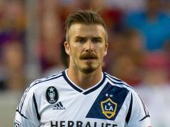 David Beckham will not be a member of Britain's Olympic soccer team.