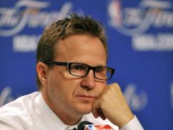 Scott Brooks was named NBA Coach of the Year in 2010.