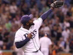 Fernando Rodney took over as Rays closer from an injured Kyle Farnsworth in spring training and has performed at an All-Star level, racking up 22 saves and pitching to a 1.01 ERA.