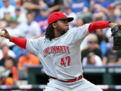 Despite his 9-4 record and 2.26 ERA, Reds starter Johnny Cueto was omitted from the National League All-Star team.