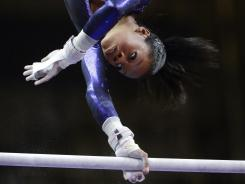 Gabby Douglas was the top scorer at the U.S. Olympic gymnastics trials.