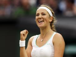 Victoria Azarenka of Belarus has been impressive so far at Wimbledon.