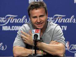 Oklahoma City Thunder coach Scott Brooks signed a four-year deal Tuesday after leading the team to the NBA Finals.