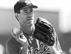 Baltimoe Orioles pitcher Jim Palmer is auctioning off his Cy Young and Gold Glove awards.