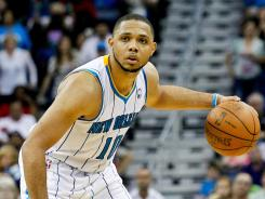 Eric Gordon has averaged 18.2 points, 3.3 assists and 2.7 rebounds in his NBA career.