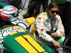 Simona de Silvestro has finished only three of nine races this season and was black-flagged after 10 laps in the Indianapolis 500 because her Lotus car was too slow.