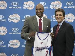 Lamar Odom played with the Clippers from 1999 to 2003.