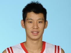 Jeremy Lin, shown here in a Houston Rockets uniform during the 2011 Media Day, is meeting with the team for a possible contract offer after being cut last season.