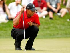 Tiger Woods is coming off a victory Sunday at the AT&T National at Congressional Country Club.