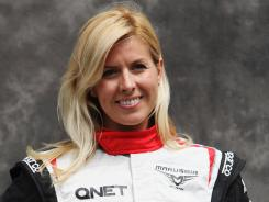 Spanish test driver Maria De Villota was in critical but stable condition in a hospital after a Tuesday crash.