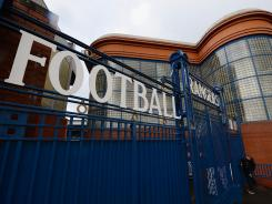 Ibrox Stadium in Glasgow, home of Rangers FC, won't be hosting any Scottish Premier League matches this season.