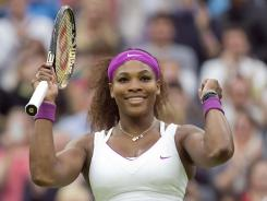 Serena Williams, at 30, is the oldest competitor in the Wimbledon women's semifinals. She's also the most accomplished by a wide margin.