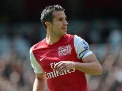 Robin van Persie announced Wednesday that he will not be renewing his contract with Arsenal, which runs for one more season. The Dutch striker led the Premier League with 30 goals in 2011-12, and the Gunners finished third in the league.