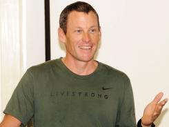 Lance Armstrong is accused by the U.S. Anti-Doping Agency of using performance-enhancing drugs during his seven Tour de France victories.
