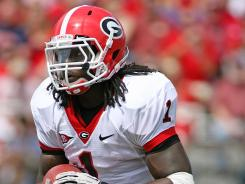Isaiah Crowell had 850 yards and five touchdowns for Georgia last season.