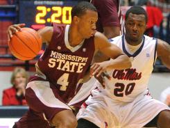Rodney Hood averaged 10.3 points and 4.8 rebounds per game as a freshman with Mississippi State.
