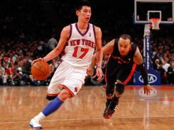Jeremy Lin averaged 14.6 points and 6.2 assists per game last season.