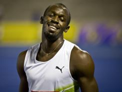 Usain Bolt has withdrawn from the meet in Monaco after suffering a 'slight' injury in the Jamaican Olympic trials, according to his coach.