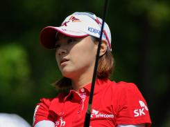 Na Yeon Choi roared to the front Saturday at the U.S. Women's Open, firing a 7-under 65.