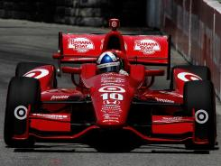 Dario Franchitti has won three consecutive poles and is the defending champion in Toronto.