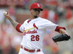St. Louis starting pitcher Kyle Lohse picked up his ninth win of the season Saturday against the Miami Marlins.