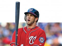 Nationals' Bryce Harper, 19, becomes the youngest position player to be selected to the All-Star Game.