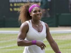 Serena Williams hopes to use her Wimbledon title as a springboard for more success.