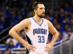 Ryan Anderson started all 61 games for the Magic in 2011-12, averaging 16.1 points and 7.7 rebounds.
