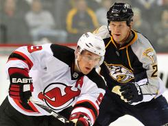 Zach Parise, left, and Ryan Suter ended up with the Minnesota Wild.