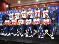 The U.S. men's Olympic basketball team features players committed to doing whatever it takes to win the gold medal, even if that means getting less minutes than expected.